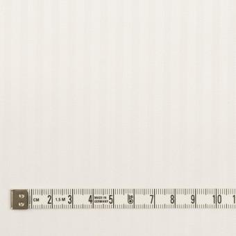 【150cmカット】コットン×ストライプ(オフホワイト)×ブロードジャガード サムネイル4