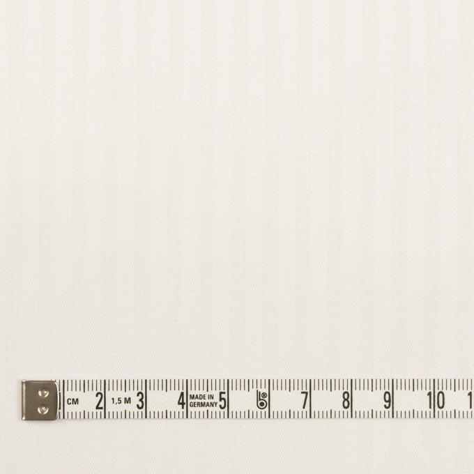 【150cmカット】コットン×ストライプ(オフホワイト)×ブロードジャガード イメージ4