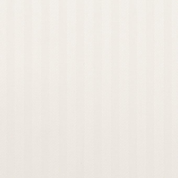 【150cmカット】コットン×ストライプ(オフホワイト)×ブロードジャガード イメージ1