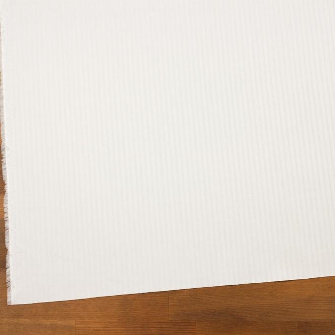 コットン×ストライプ(オフホワイト)×ジャガード イメージ2