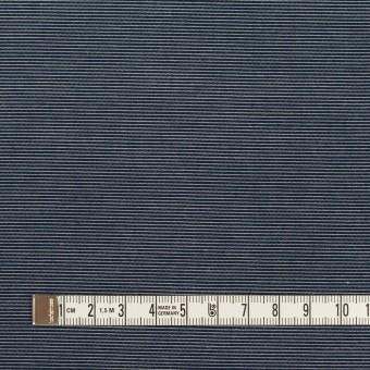 コットン&テンセル×ボーダー(アッシュネイビー)×コード織_全2色 サムネイル4