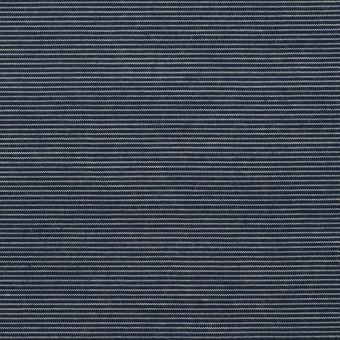 コットン&テンセル×ボーダー(アッシュネイビー)×コード織_全2色 サムネイル1
