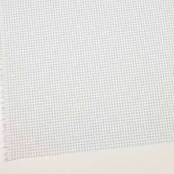 コットン&ポリエステル×チェック(ライトグレー)×ブロードジャガード_全2色 サムネイル2
