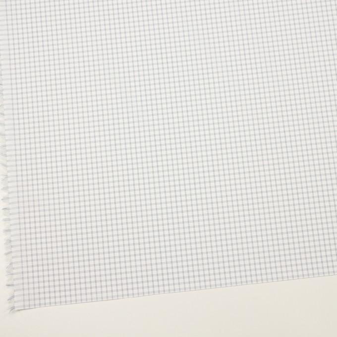 コットン&ポリエステル×チェック(ライトグレー)×ブロードジャガード_全2色 イメージ2