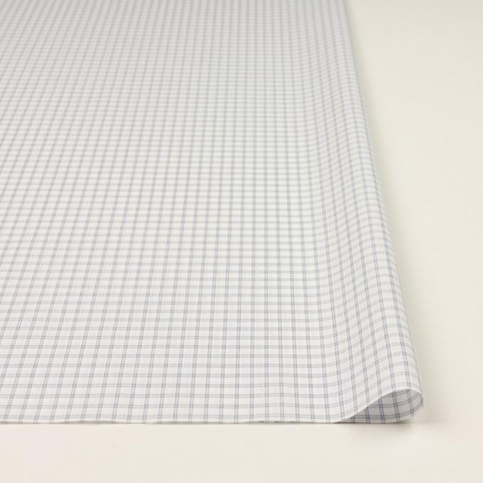 コットン&ポリエステル×チェック(ライトグレー)×ブロードジャガード_全2色 イメージ3