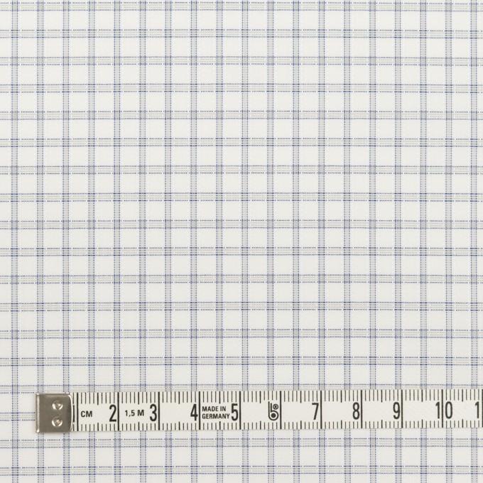 コットン&ポリエステル×チェック(ライトグレー)×ブロードジャガード_全2色 イメージ4