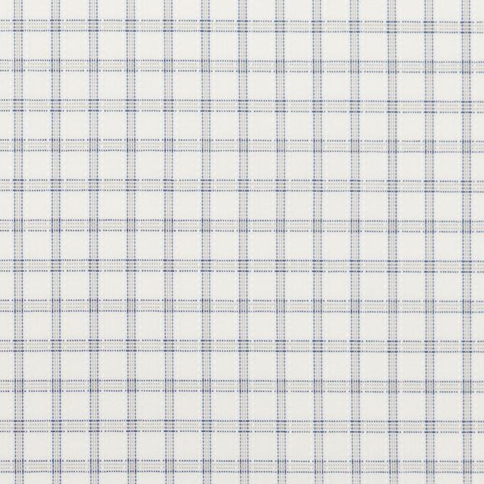 コットン&ポリエステル×チェック(ライトグレー)×ブロードジャガード_全2色 イメージ1