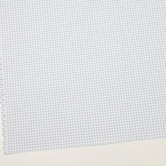 コットン&ポリエステル×チェック(サックス)×ブロードジャガード_全2色 サムネイル2