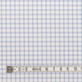 コットン&ポリエステル×チェック(サックス)×ブロードジャガード_全2色 サムネイル4