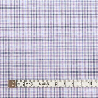 コットン×チェック(ラベンダー)×ブロード_全2色 サムネイル4