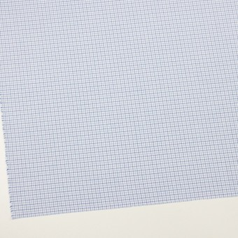 コットン×チェック(サックス)×ブロード_全2色 サムネイル2