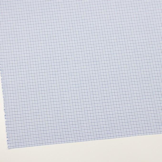 コットン×チェック(サックス)×ブロード_全2色 イメージ2