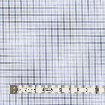 コットン×チェック(サックス)×ブロード_全2色 サムネイル4
