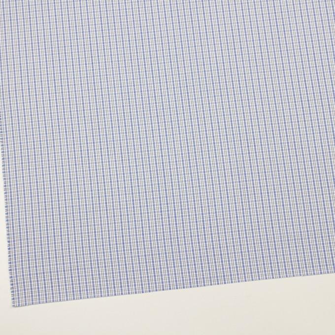 コットン×チェック(ラベンダーブルー)×ブロード イメージ2