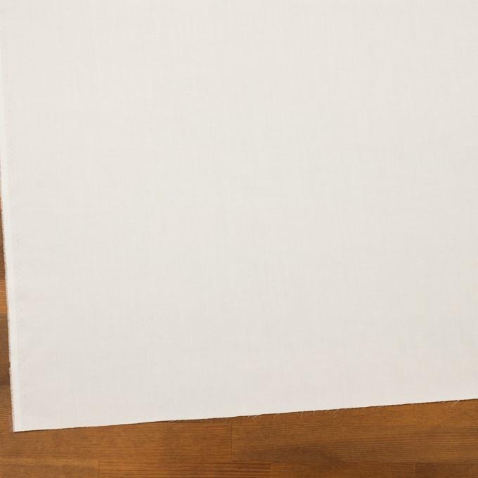 コットン×無地(ホワイト)×ローン イメージ2