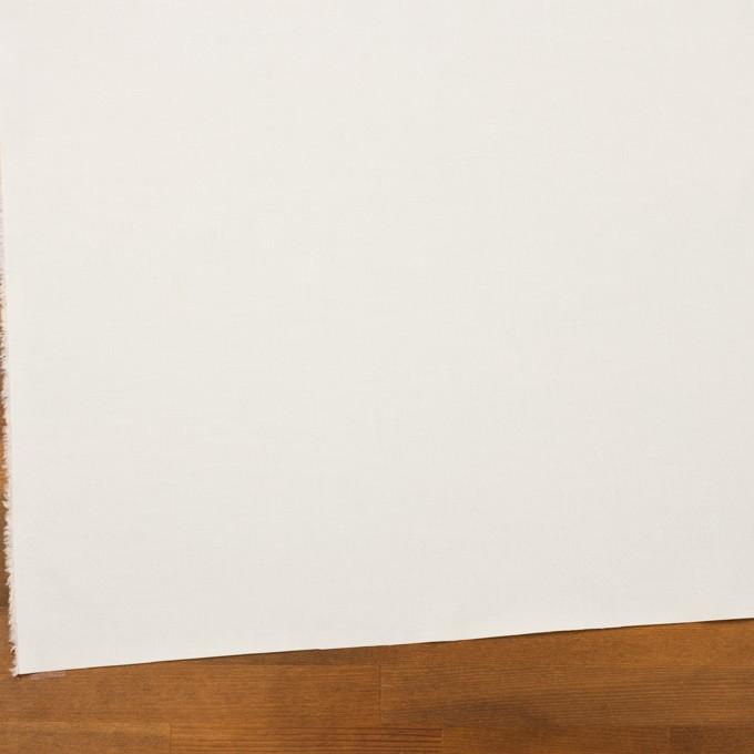 コットン&ポリウレタン×無地(オフホワイト)×ローンストレッチ イメージ2
