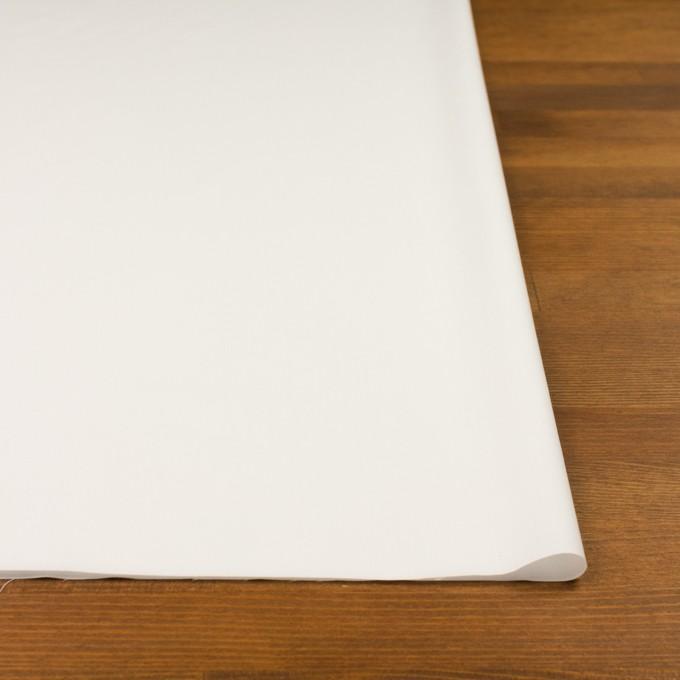 コットン&ポリウレタン×無地(オフホワイト)×ローンストレッチ イメージ3