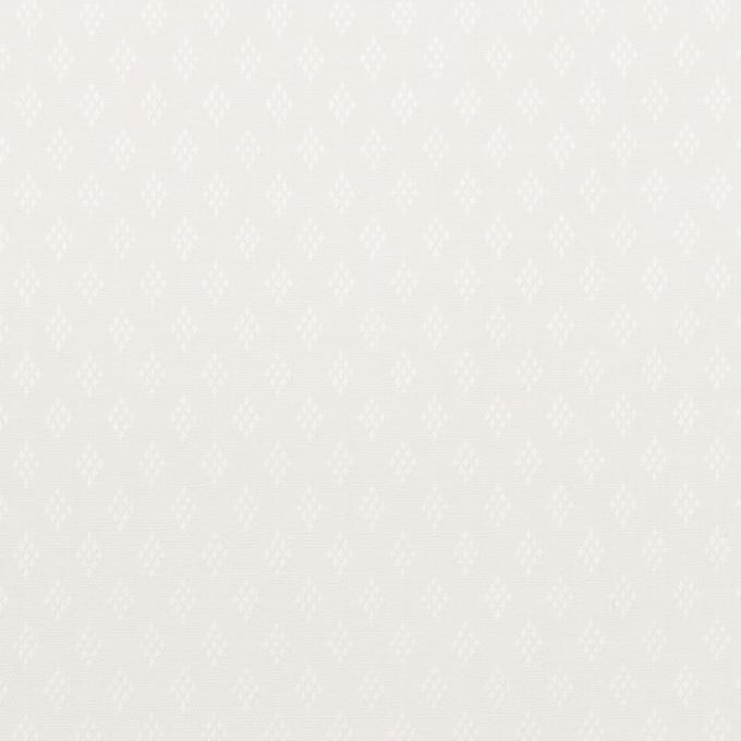 コットン×ダイヤ(ホワイト)×ブロードジャガード イメージ1