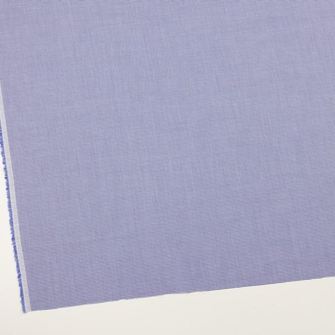 コットン×千鳥格子(ネイビー)×ブロード イメージ2