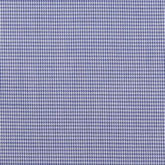 コットン×千鳥格子(ネイビー)×ブロード サムネイル1