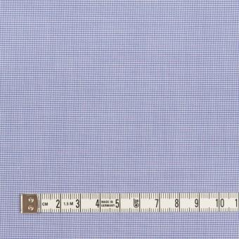 コットン×千鳥格子(ヒヤシンスブルー)×ブロード サムネイル4