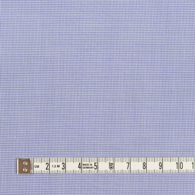 コットン×千鳥格子(ヒヤシンスブルー)×ブロード イメージ4