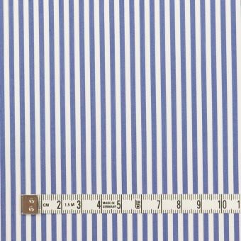 コットン&ポリエステル×ストライプ(ブルー)×ローン サムネイル4