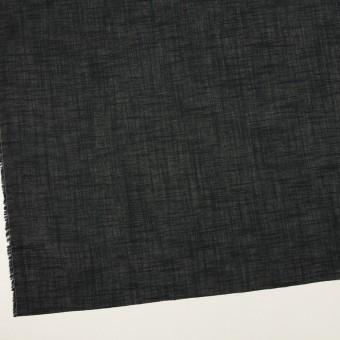 コットン×無地(ブラック)×スラブボイル サムネイル2