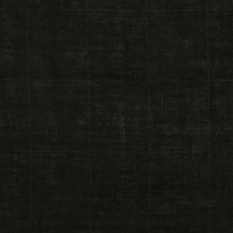 コットン&テンセル混×無地(ブラック)×ボイルシャーリング
