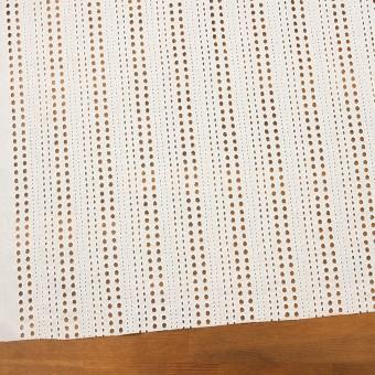 コットン×サークル(オフホワイト)×ローン刺繍_全2色 サムネイル2