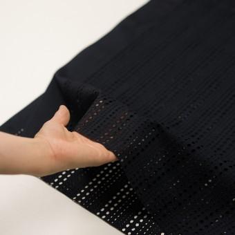 コットン×サークル(ブラック)×ローン刺繍_全2色 サムネイル5