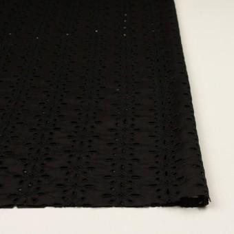 キュプラ×フラワー(ブラック)×ローン刺繍 サムネイル3