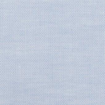 コットン×無地(ペールブルー)×斜子織_全2色