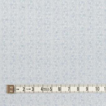 コットン×幾何学模様(ペールブルー)×ジャガード サムネイル4