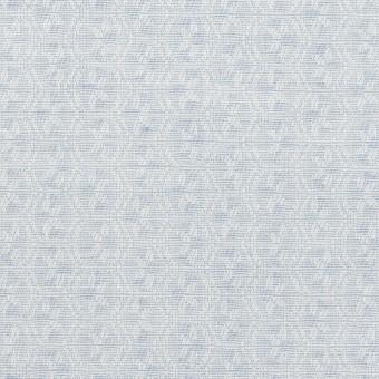 コットン×幾何学模様(ペールブルー)×ジャガード