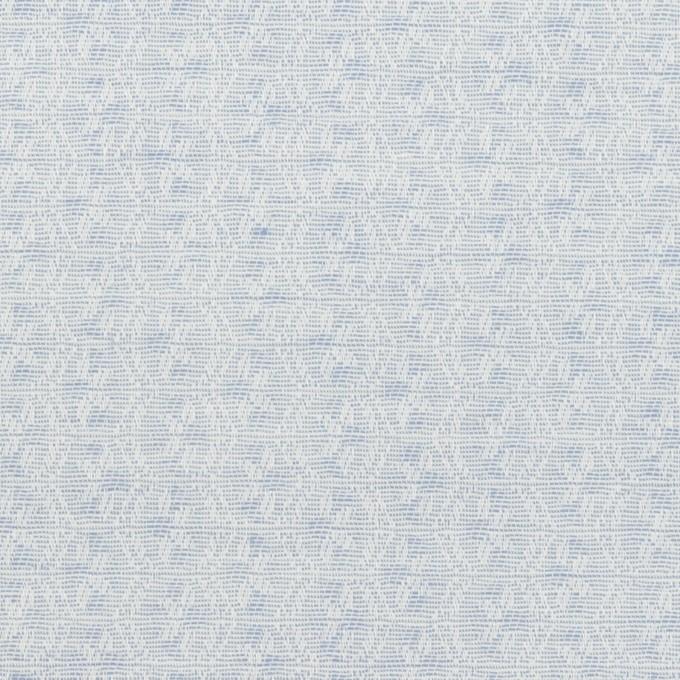 コットン×幾何学模様(ペールブルー)×ジャガード イメージ1