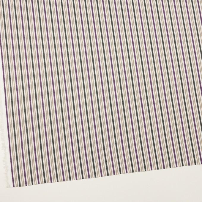 コットン×ストライプ(パープル&グリーン)×ジャガード_全2色 イメージ2