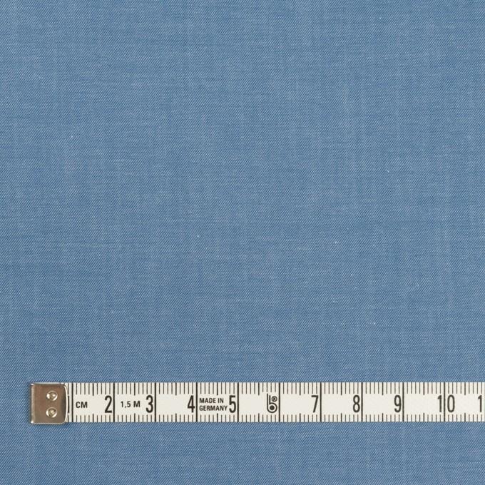 コットン×無地(サックスブルー)×シャンブレー・サージ イメージ4