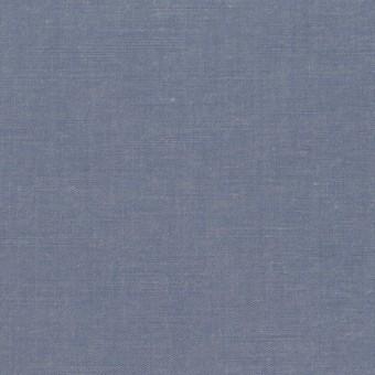 コットン&テンセル×無地(アッシュブルー)×シャンブレー・ローン