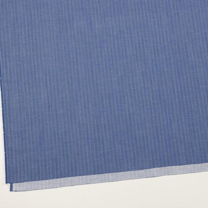 コットン&ナイロン×無地(オリエンタルブルー)×ヘリンボーン イメージ2
