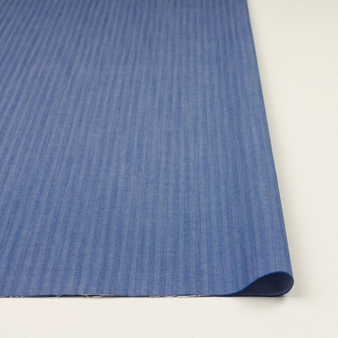 コットン&ナイロン×無地(オリエンタルブルー)×ヘリンボーン イメージ3