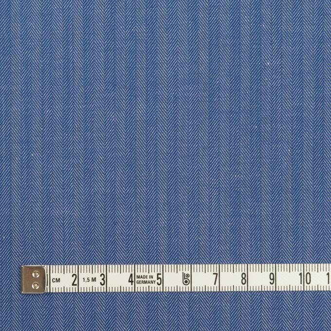 コットン&ナイロン×無地(オリエンタルブルー)×ヘリンボーン イメージ4