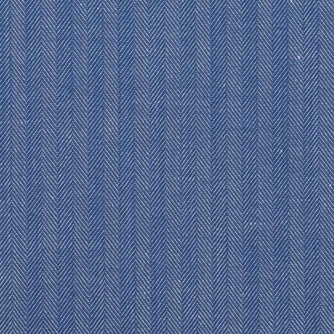 コットン&ナイロン×無地(オリエンタルブルー)×ヘリンボーン イメージ1