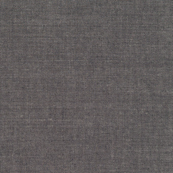 コットン&テンセル×無地(チャコールグレー)×シャンブレー イメージ1