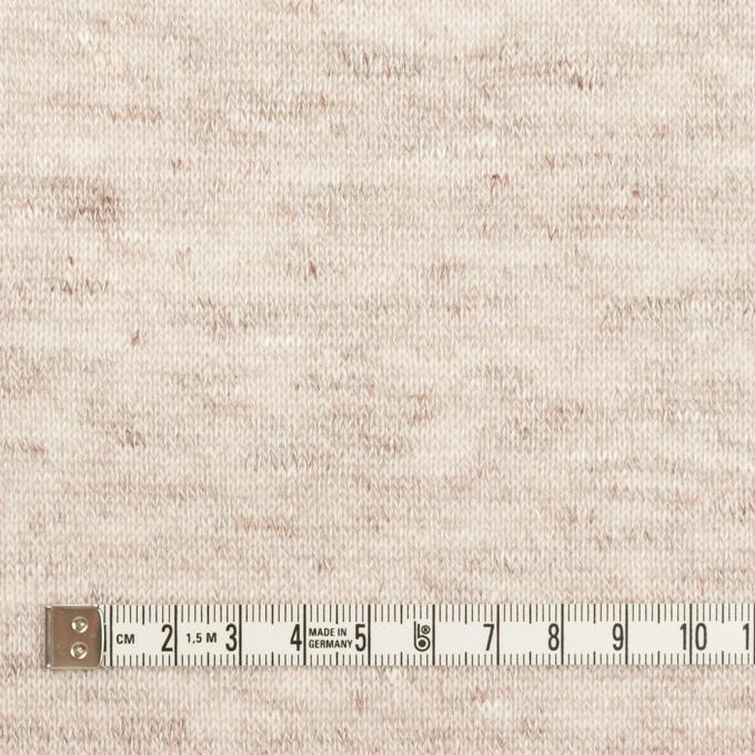 リネン×無地(オートミール)×天竺ニット イメージ4