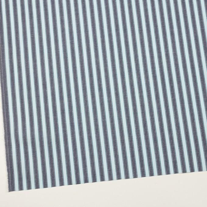 コットン×ストライプ(サックス&グレー)×ジャガード イメージ2