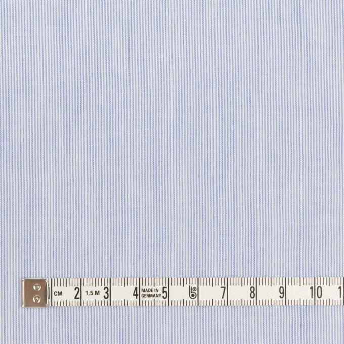 コットン&リネン×ストライプ(サックスブルー)×ローンワッシャー イメージ4