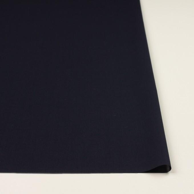 コットン×無地(ネイビー)×ボイル イメージ3