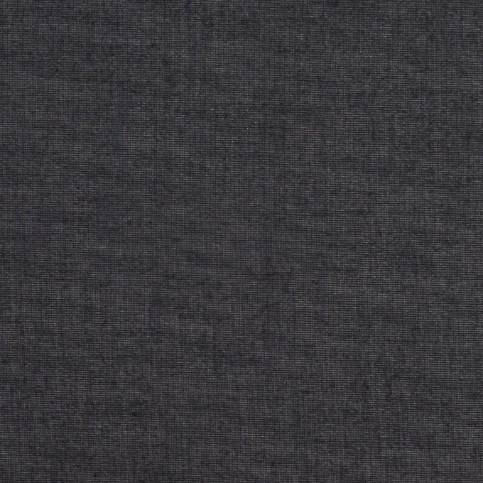 コットン×無地(ネイビー)×ボイル イメージ1