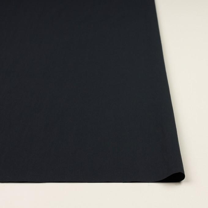 コットン&ナイロン×無地(ダークネイビー)×ブロード イメージ3